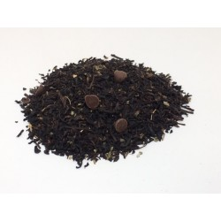 Té negro con chocolate y...